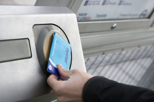 Oyster Card. Photo © TfL Press Office, all rights reserved