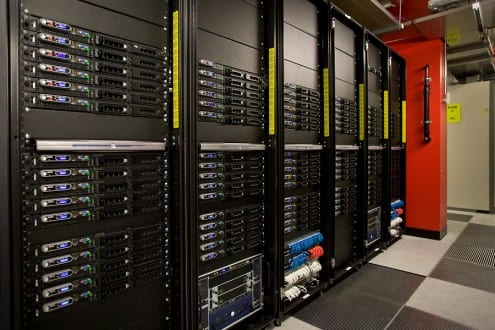 UCL's Legion Cluster. Photo: Tony Slade, © UCL Creative Media Services (all rights reserved)