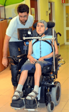 tom - wheelchair