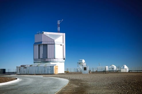 The ESO VLT Survey Telescope at Paranal Observatory in Chile. Credit: ESO (CC-BY)