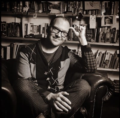 Cory Doctorow. Photograph by Jonathan Worth