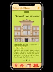 IXD104 – Travel App – Final Screens