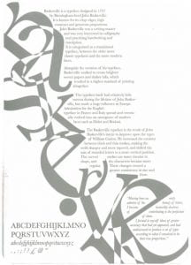 Example of Typeface