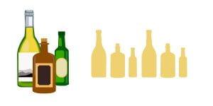 Bottle illustrations
