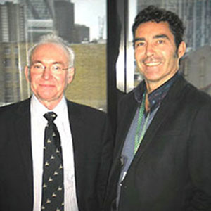 Professor Mike Kelly and Antony Morgan