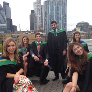 Students and industry leaders celebrate graduations