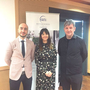 Gcu London News The British School Of Fashion Pop Up In Milan