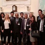 Students visit Lloyd's of London