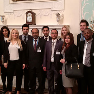 Students visit Lloyd's of London