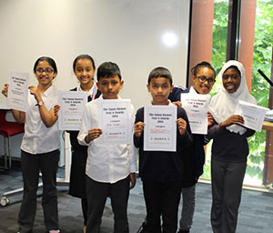 Canon Barnett primary school Year 6 students