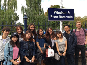 Group of pre-sessional English students