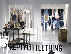 Fashion students visit Pretty Little Things