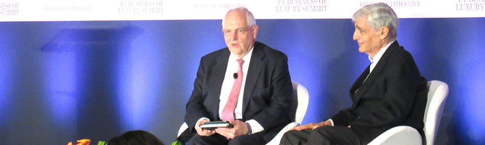 FT Associate Editor Martin Wolf and Former US treasury secretary Robert Rubin