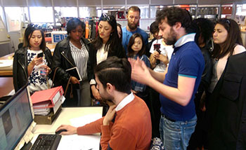 La Rocca factory showed Fashion students their new 3D software