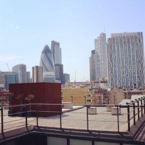 Take a break on the GCU London Roof Terrace!