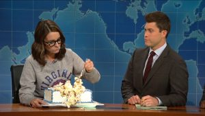"""Tina does it, why not you! Cake eating = stress release therapy!"""