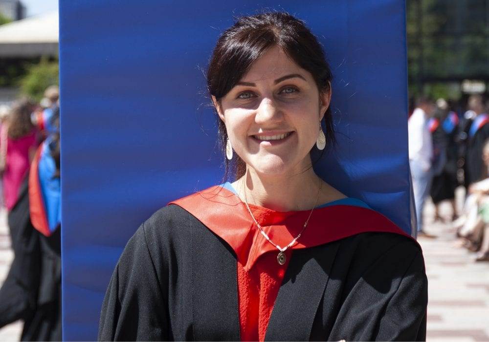 Anna BA Hons International Marketing graduate