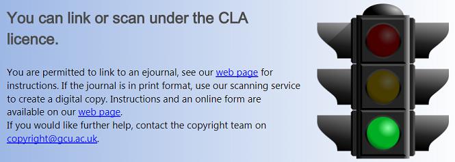 screenshot of a sample results screen form copyright advisor