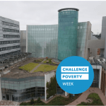 Saltire Centre and Challenge Poverty Week logo