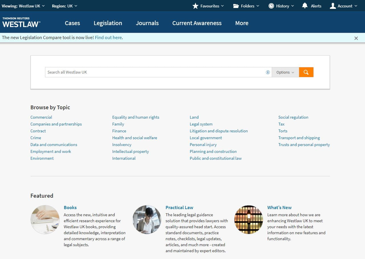 Library News | New Westlaw