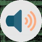 icon representing an audio file