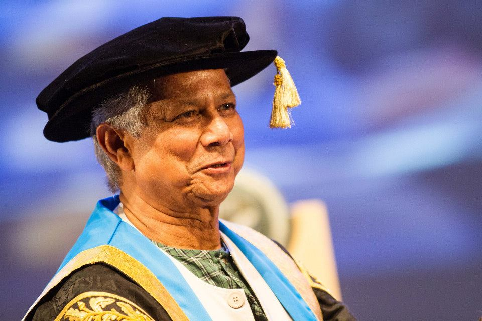 Students have the power to change world - GCU Chancellor Professor Muhammad Yunus