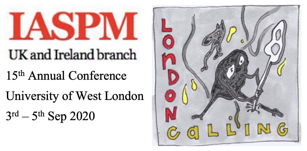 IASPM UK & Ireland 2020: London Calling