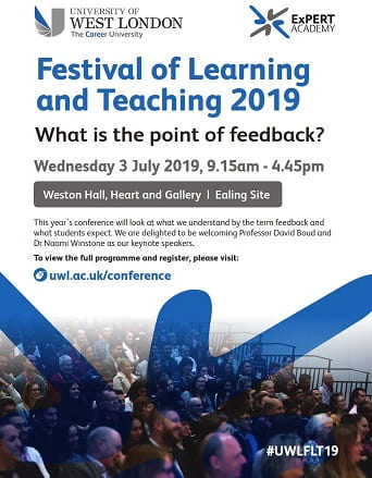 BOOK NOW for Festival of Learning and Teaching