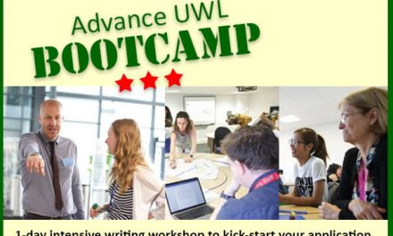 Advance UWL Bootcamp – new dates added for the summer