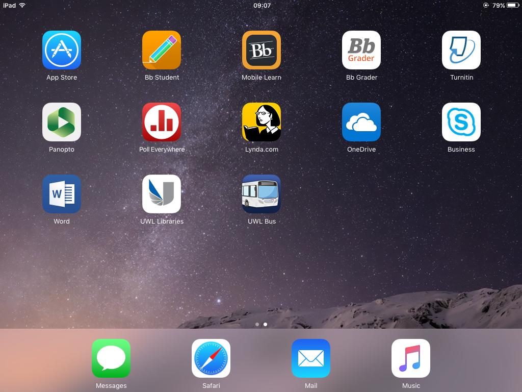 UWL apps