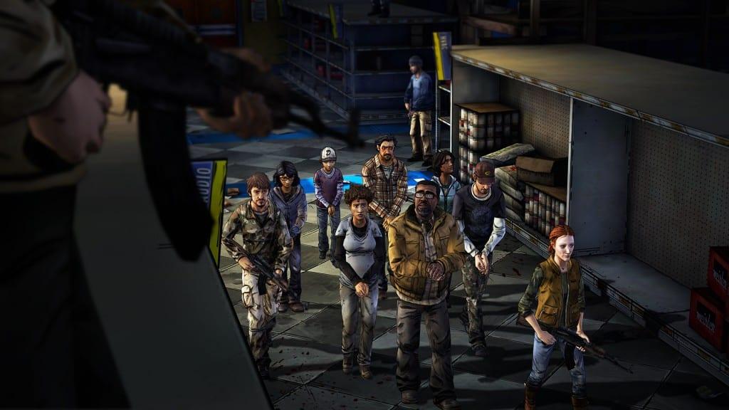 The Walking Dead S2E3 Captured
