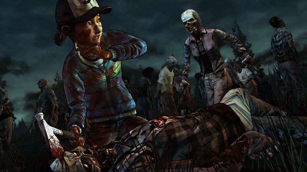 The Walking Dead S2E3 Clementine
