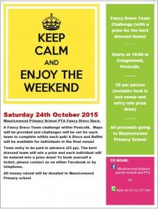 PTA Pub Crawl Saturday 24th October 2015