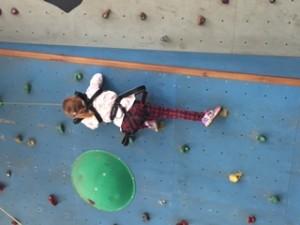 GK climbing