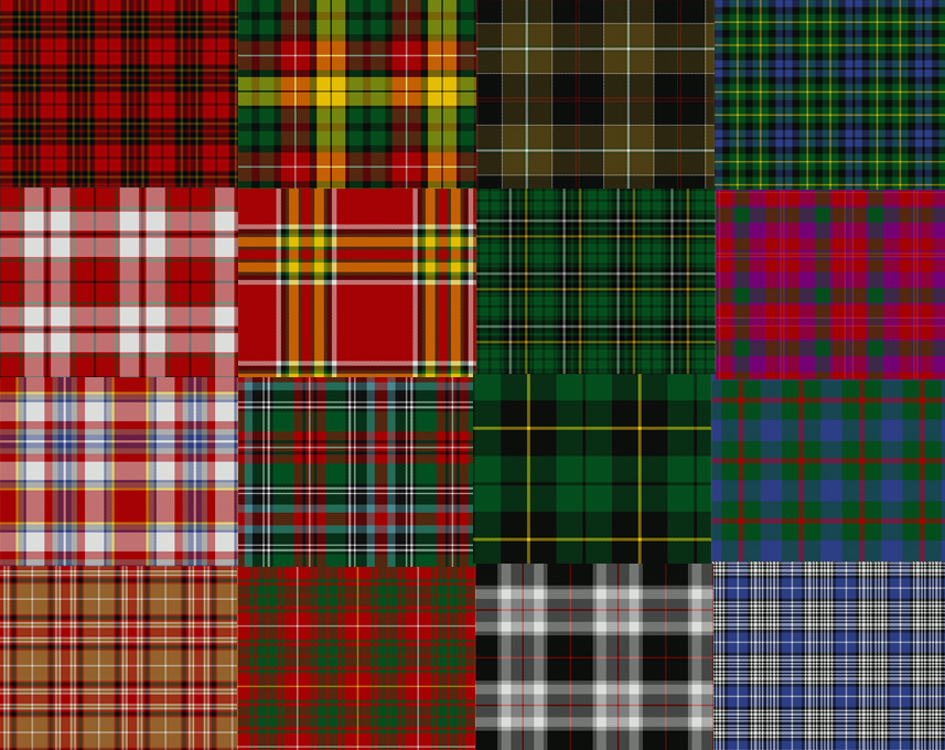 Pics For Scottish Plaid Patterns