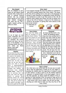 January Newsletter 2