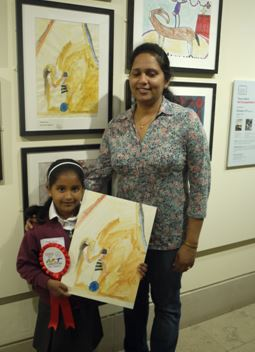 Art prizes for pupils at St Mary's