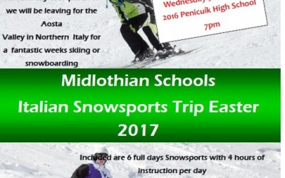 Midlothian Schools Italian Snowsports Trip