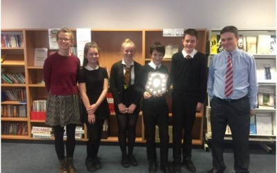 Lasswade High School are the  Midlothian Spell Masters 2016