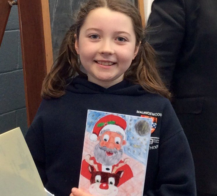 Christmas Card Competition Winner