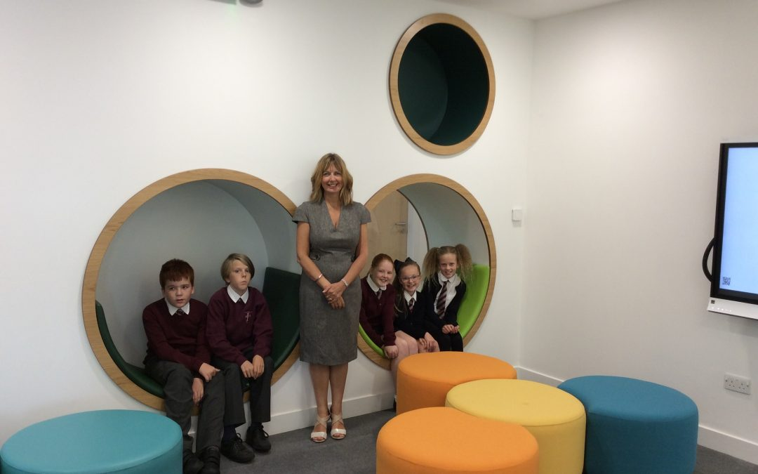 First day at the new Roslin Primary School