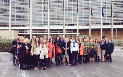 1+2 Development Officer Visits European Commission in Brussels