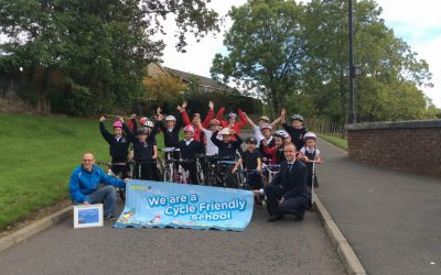Cycle Friendly School Award for Mauricewood Primary