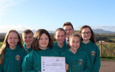 Gore Glen pupils receive Scottish Angels Heritage Award
