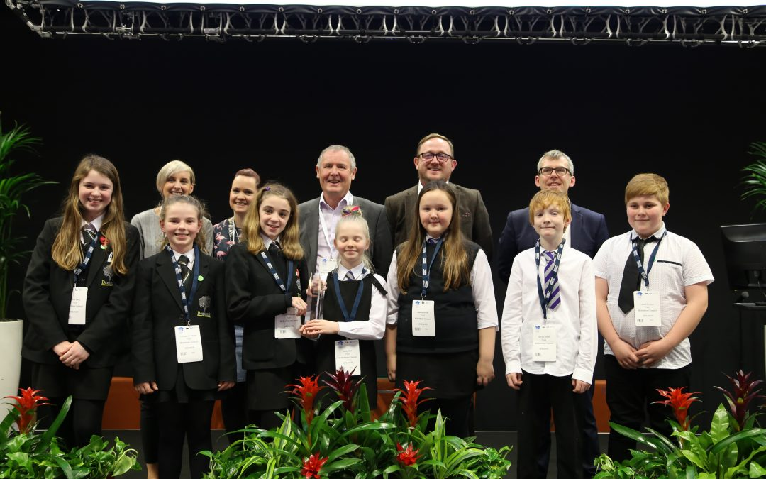 Midlothian's mi:SPACE project wins best Pupil Experience Award