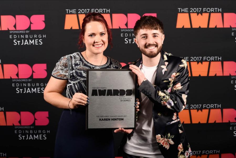 Karen Hinton wins Forth Best Teacher Award 2017