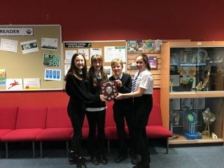 Penicuik High School are the  Midlothian Spell Masters 2018