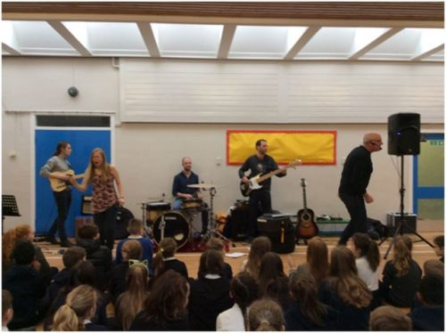 Fischy Music visit Mauricewood PS