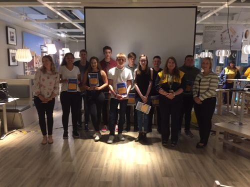 IKEA Honours Midlothian's Next Generation of Designers