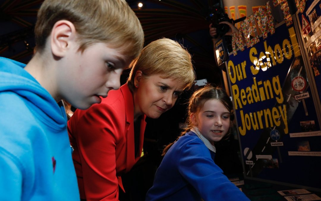 Newtongrange- First Minister's Reading Challenge Awards